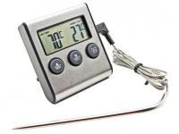 Термометр TP-700 с проводным термосенсором и звуковым датчиком